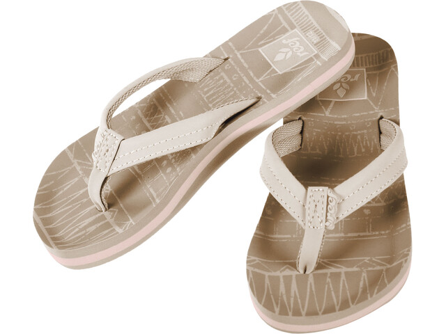 Reef Little Ahi Lite Claquettes Fille, tan